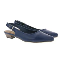 CITY WALK City WALK Sling-Pumps feminine Damen Absatz-Schuhe Stöckelschuhe Stilettos Blau Slingpumps 36