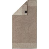 CAWÖ Two-Tone Handtuch (2x50x100cm) sand