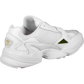 adidas Falcon cloud white/cloud white/gold met. 40