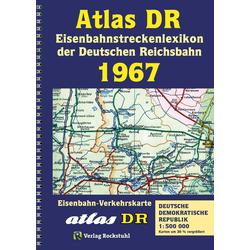 Eisenbahnstreckenlexikon der DDR 1967: Buch von