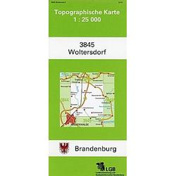 Woltersdorf 1 : 25 000 - Buch