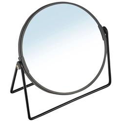 Zeller Present Kosmetikspiegel, ØxH: 17,5x20,5 cm schwarz Damen Schminkutensilien Make Up Kosmetik Kosmetikspiegel
