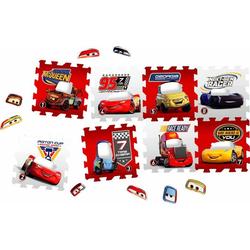 Knorrtoys® Puzzle Disney/Pixar Cars, 16 Puzzleteile, Puzzlematte, Bodenpuzzle