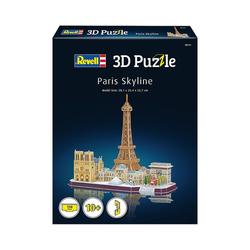 Revell® 3D-Puzzle 3D-Puzzle Paris Skyline, 114 Teile, Puzzleteile