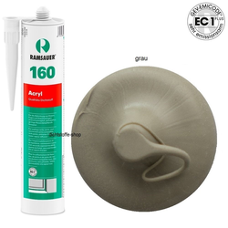 Ramsauer 160 Acryl grau 1K Acryl Dichtstoff 310ml Kartusche