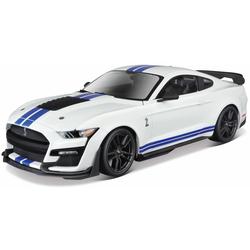 Maisto Sammlerauto Ford Shelby GT500  ́20, 1:18 weiß Kinder Modellautos Modellfahrzeuge Autos, Eisenbahn Modellbau