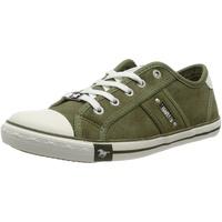MUSTANG Shoes Sneaker mit Logoschriftzügen grün 41