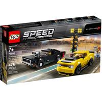 Lego Speed Champions 2018 Dodge Challenger SRT Demon und 1970 Dodge Charger R/T 75893