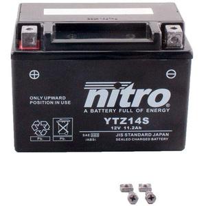 Batterie 12V 11,2AH YTZ14S Gel Nitro NC 750 S ABS DCT RC88 16-18