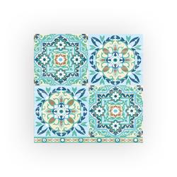 Ambiente Papierserviette Tiles, (5 St), 33 cm x 33 cm