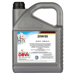 Mineralisches Motoröl DBV SAE HD 20W-50 5 Liter