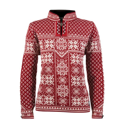 Dale of  Norway Peace Pullover Damen rot S