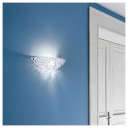 click-licht Wandleuchte Wandleuchten Artic_W E27 aus Kristallglas, Wandleuchte, Wandlampe, Wandlicht