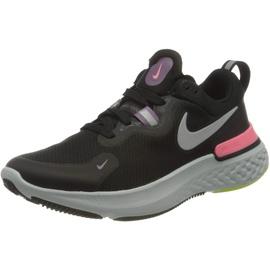 Nike React Miler W black/violet dust/sunset pulse/metallic silver 41