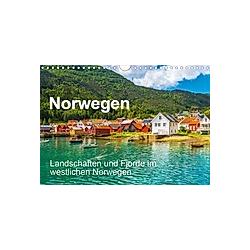 Norwegen - Landschaften und Fjorde im westlichen Norwegen (Wandkalender 2021 DIN A4 quer)