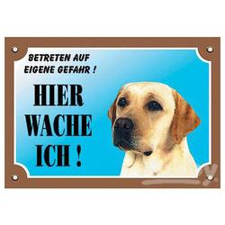 Nobby Warntafel Labrador