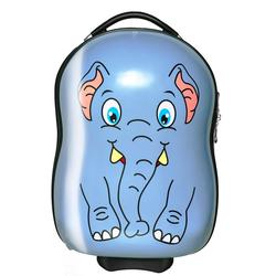 Packenger Kinderkoffer Kinderkoffer, 2 Rollen, Kinderkoffer mit kindgerechtem Motiv blau