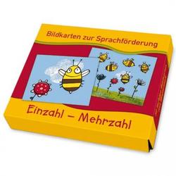 Bildkarten zur Sprachförderung - Einzahl - Mehrzahl