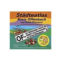 Kreis Offenbach und Stadt Offenbach Städteatlas 1 : 13 000 - Buch