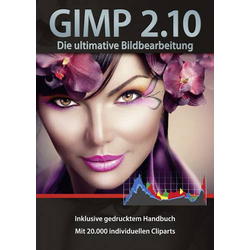 GIMP 2.10 Bildbearbeitung Vollversion, 1 Lizenz Windows Bildbearbeitung