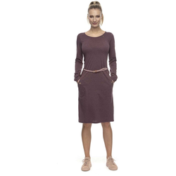 Kleid RAGWEAR - Tanna Wine Red (WINE RED)