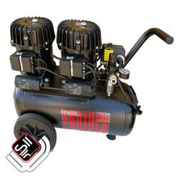 Black Panther P100-24 Kompressor Flüster-Leise mit nur 42 dB(A)/lm, Silair, Silent Kompressor