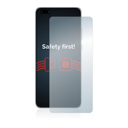 Savvies Schutzfolie Panzerglas für Huawei P40, Schutzglas Echtglas 9H klar