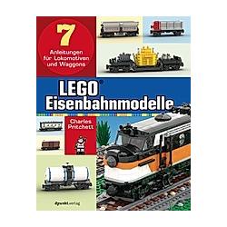 LEGO®-Eisenbahnmodelle. Charles Pritchett  - Buch
