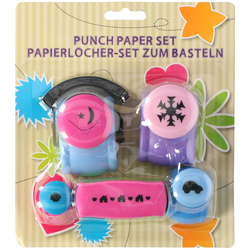 Papierlocher Set