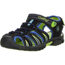 ConWay Kinder Jugend Trekkingsandalen blau Trekkingschuhe schwarz Gr. 30