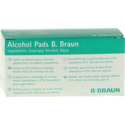 ALCOHOL PADS B.Braun Tupfer 100 St