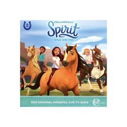 Edel Hörspiel CD Spirit, wild und frei 2 - Die Rätselhafte Karte