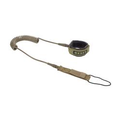 ION SUP TEC Leash coiled olive 2020 SUP-Leash Band Leine, Leash Längen: 10'
