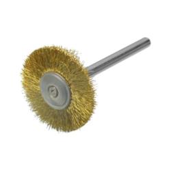 Rundbürste / Miniaturbürste Messing 0,10 Ø22x2,34 VPE: 12