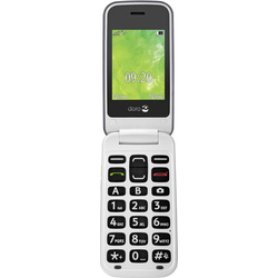 Doro 2414 Senioren-Klapp-Handy SOS Taste Stahl