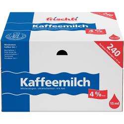 Frischli Kaffeemilch 4% für einen leichten Kaffeegenuß 3600ml
