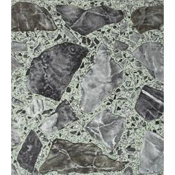 Vinylfliesen PVC-Fliese, 1,2 mm, 45 Fliesen, selbstklebend, natursteinoptik, selbstklebend schwarz