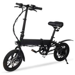 TOPMELON E-Bike, 3 Gang, Heckmotor 250,00 W, 14in, Schaltwerk, Heckmotor 250 W