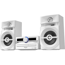 Panasonic SC-UX104 Microanlage (Digitalradio (DAB), 300 W) weiß
