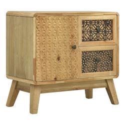 vidaXL Anrichte vidaXL Sideboard Braun 60 x 30 x 56,5 cm Holz