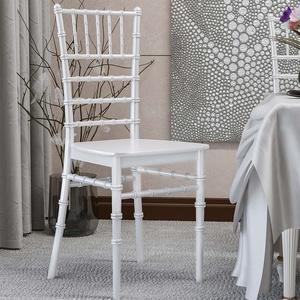 LUCIANA | Hochzeits Stuhl | Weiß | Stapelbar  | Bankett Saal Stapel