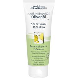 HAUT IN BALANCE Olivenöl Dermatologische Fußcreme 5% Olivenöl, 10% Urea