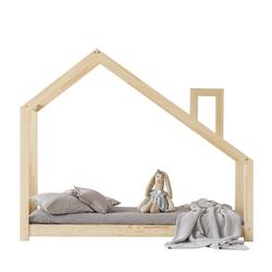 Łóżko Dalidda domek z kominem