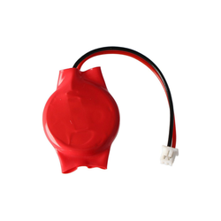 AccuCell CMOS Batterie CR2032 mit Stecker, Backup Lithium B Batterie