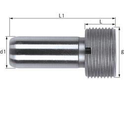 Kühlmittelübergaberohr HSK 63 A