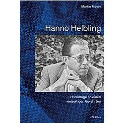 Hanno Helbling. Martin Meyer  - Buch