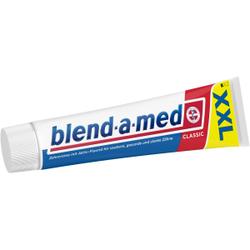blend-a-med Zahncreme, 125 ml, Zahnpasta für gesunde und starke Zähne, Classic