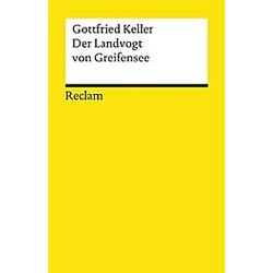 Der Landvogt von Greifensee. Gottfried Keller  - Buch