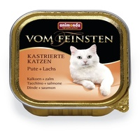Animonda Vom Feinsten kastrierte Katzen Pute & Lachs 32 x 100 g