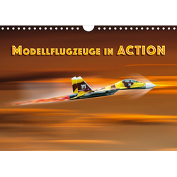 Modellflugzeuge in ACTION (Wandkalender 2020 DIN A4 quer)